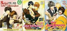 6 DVD Anime Sekai Ichi Hatsukoi + Movie + Junjou Romantica + OVA  OComplete Set