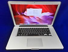 "Apple MacBook Pro 15"" QUAD i7 -NEW MOTHERBOARD,KEYBOARD,BATTERY, DVD...95% NEW!!"