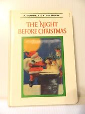 "Vintage 1969 Puppet Storybook ""The Night Before Christmas"" Izawa"