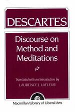 Descartes : Discourse Method and Meditations by Laurence J. Lafleur (1960,...
