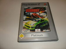 PlayStation 2  Burnout 2: Point of Impact [Platinum]