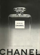 50's Vintage Chanel 'Bois des Iles'  Perfume Advertisement  1950