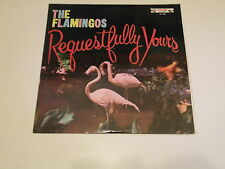 THE FLAMINGOS - REQUESTFULLY YOURS - LP 1960 END RECORDS DOG LABEL - DOO WOOP -