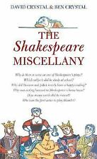 The Shakespeare Miscellany Crystal, David, Crystal, Ben Hardcover