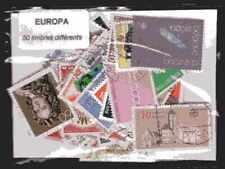 EUROPA CEPT 50 timbres différents oblitérés