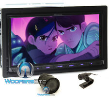 "pkg KENWOOD DDX774BH 6.95"" TV CD DVD BLUETOOTH USB HD RADIO STEREO + CAMERA NEW"