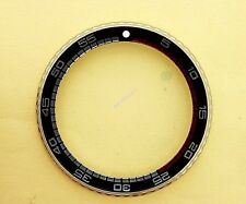 NEW SEIKO BEZEL W/ BLACK RALLYE INSERT 6309 7040, 7290, 6306 & 7548 WATCH #067