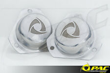 MAZDA RX-2 , R-100 STRUT TOP COVERS -POLISHED