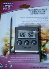Taylor 5 Star Pro Programmable Thermometer with Probe and Timer