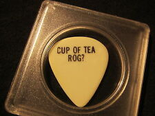 PETE TOWNSHEND THE WHO PERSONAL GUITAR PICK PIC VERY RARE CUP OF TEA ROG? L@@K