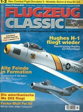FLUGZEUG CLASSIC JAN 03 BLOHM & VOSS Bv222 WIKING_HUGHES H-1_Fw56_JUNKERS F 13