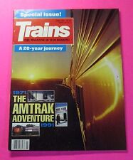 TRAINS.THE MAGAZINE OF RAILROADING..JUNE/1991...SPECIAL ISSUE: A 20-YEAR JOURNEY