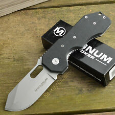 Boker Magnum Bulldog 440 Stainless G10 Handle Folding Knife 01YA073
