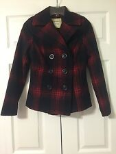 Old Navy coat, blue & red , size XS