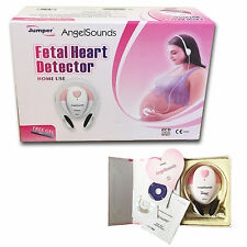 Moniteur battement coeur bébé doppler angelsounds + gel +2 cd + cable d'enregistrement