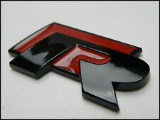 BLACK RED R LINE CAR BADGE for AUDI A4 A2 A3 A6 RS4 RS6 A8 S4 S6 S8 S ALLROAD