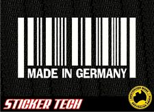 MADE IN GERMANY STICKER DECAL TUITS VOLKSWAGEN VW BMW AUDI MERCEDES-BENZ OPEL