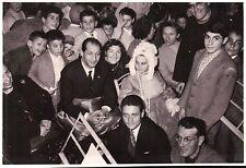 RARA FOTOGRAFIA DEL CICLISTA - GINO BARTALI - DURANTE FESTA -  (C7-71)