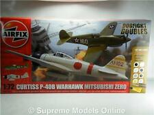 AIRFIX A50127 CURTIS P-40B MITSUBISHI ZERO KIT DOGFIGHT DOUBLE MODEL AIRCRAFT K8