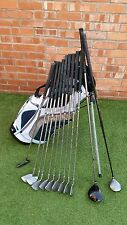 Full set mens golf clubs irons driver 3 wood plus putter NEW stand bag