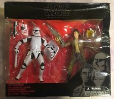 Star Wars Black Series 6 Poe Dameron and First Order Riot Control Stormtrooper