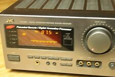 JVC RX-809V vintage receiver amplifier SEA controls digital meter surround sound