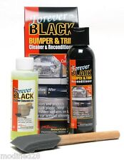 FOREVER BLACK Bumper Trim Kit Fender Flare Dye