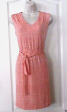 Apt. 9® Sleeveless Orange Tie Belt  Dress -Women's  Petite  Size PS NWT MSRP$50