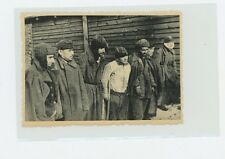 WW2 Concentration Camp Photo men wearing coats  USSR Ukranian MVD archives