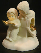 """Snowbabies """"Did We Send  Christmas Card To  Them?"""" Dept. 56 Excellent Condition"""