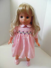 LISSI PUPPE DOLL BLONDE HAIR BLUE EYES 20""