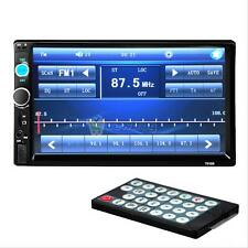 "7""HD Double 2DIN Car Stereo MP5 MP3 Player Bluetooth Touchscreen FM Radio USB"