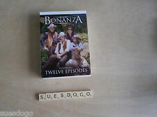 BONANZA - LORNE GREENE MICHAEL LANDON - 12 EPISODES - 3 DVD BOX SET REGION 0