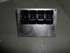 Airride 4 Manual Paddle Valve Switch Stainless Bezel Air Ride 1/4 Hot Rod New