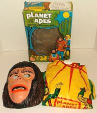 Ben Cooper PLANET OF THE APES CAESAR Halloween COSTUME/ MASK IN BOX pota 1974 LG