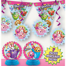 7PC Shopkins Decoration Kit Birthday Party Decoration