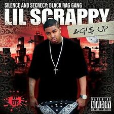 LIL SCRAPPY Silence & Secrecy Black Rag Gang CD