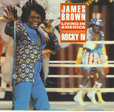 JAMES BROWN  Living In America  soundtrack 45 with PicSleeve