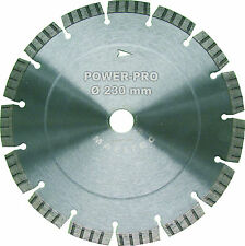 Diamantscheibe Trennscheibe Flexscheibe Ø 230mm für Dachziegel Ton Beton Granit