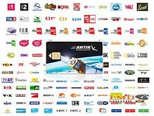 Antiksat Satellite Subscription CARD slovacchi e cechi canali televisivi su eutelsat16a