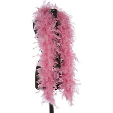 Dusty Rose 40 Gram Chandelle Feather Boas - 6 Feet Long Halloween Costumes Trim