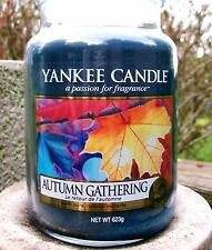"""Yankee Candle """"AUTUMN GATHERING""""  22 oz. European~NOT YET RELEASED! NEW!"""