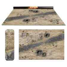 Wasteland 1 / Vulcanic – Double-Sided 72″ x 48″ Mat for Battle Games
