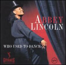 Who Used To Dance - Abbey Lincoln (1997, CD NEUF)