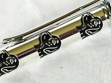 """Labrador Dog Telescopic Ballpoint Pen Metal in Silver/Grey """"Motif"""" Gift Box"""