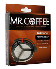 Mr Coffee Water Filter & Plastic Cartridge WF Carbon Activated Replacement Disk