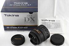 Near Mint!! Tokina AT-X 107 DX 10-17mm f3.5-4.5 DX Fisheye Lens For Canon #767