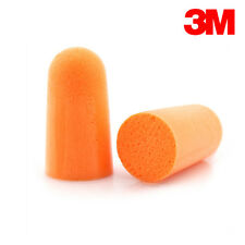3M 1100 orange foam ear plugs disposable uncorded Box 200 Pairs / 400 plugs