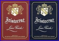 2 Aristocrat 727 Red & Blue Bank Note Bicycle Theory11 Playing Cards Decks