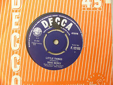 DAVE BERRY LITTLE THINGS / I'VE GOT A TIGER BY THE TAIL Decca 12103 EX